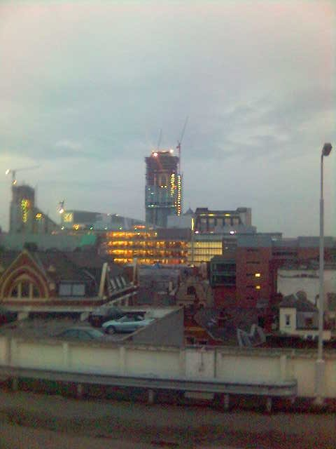 Manchester Tower with Lights