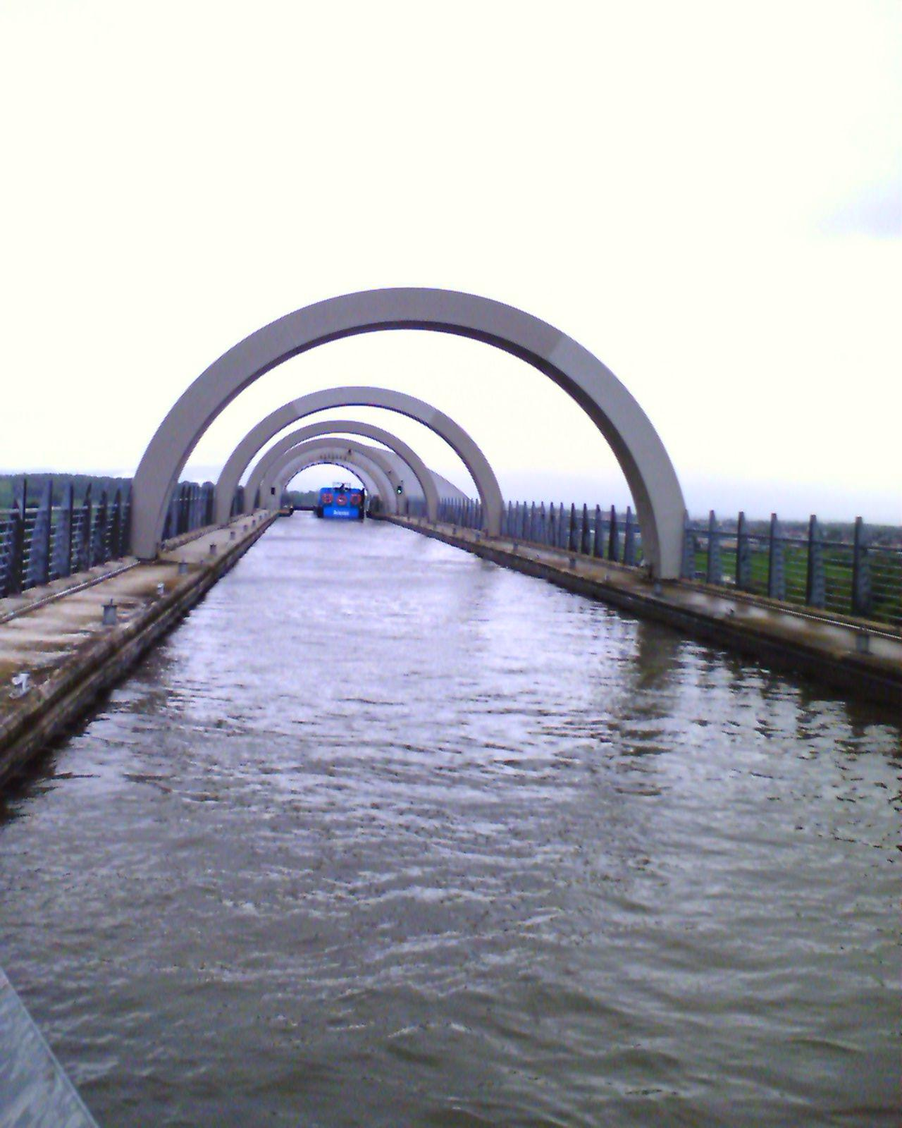Falkirk Wheel at the Top