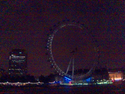 London Eye in the Dark